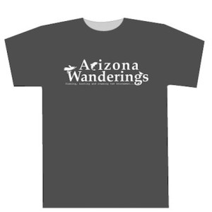 Arizona Wanderings T-shirt