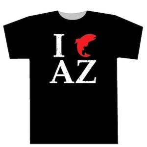 I Fish AZ T-shirt