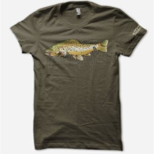 KC Badger Brown Trout Tshirt